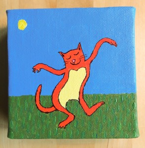 dancing kitty for fiona
